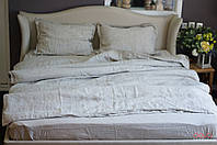 Двуспальный евро комплект постельного белья Washed linen