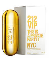 Carolina Herrera 212 VIP, 100 ml ORIGINAL size женская туалетная парфюмированная вода тестер духи аромат