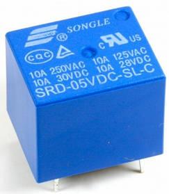 Реле SRD-05VDC-SL-C 10A