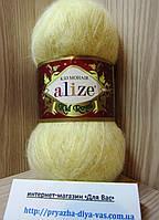 Мохеровая пряжа (62%- кид мохер, 38%- полиамид, 50 г/ 500 м) Alize Kid Royal 219
