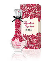 Christina Aguilera Red Sin, 100 ml ORIGINAL size женская туалетная парфюмированная вода тестер духи аромат