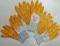 """Перчатки  """"ОРАНЖЕВЫЕ НИТРИЛ"""",Размер: 9. PRC /05-9"""