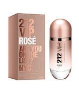 Carolina Herrera 212 VIP Rose, 100 ml ORIGINAL size женская туалетная парфюмированная вода тестер духи аромат