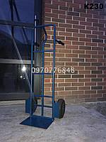 Тележка двухколесная ручная для перевозки грузов