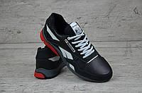 Мужские кроссовки Reebok Кожа ТОП качество (реплика)