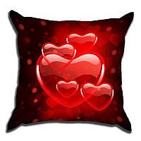 Декоративная подушка для Любимой 40х40см