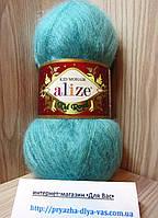 Мохеровая пряжа (62%- кид мохер, 38%- полиамид, 50 г/ 500 м) Alize Kid Royal 457
