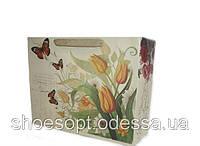 Подарочные пакеты Цветы 34х26,5х11 см, фото 1