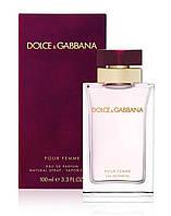 Dolce&Gabbana Pour Femme, 100 ml ORIGINAL size женская туалетная парфюмированная вода тестер духи аромат