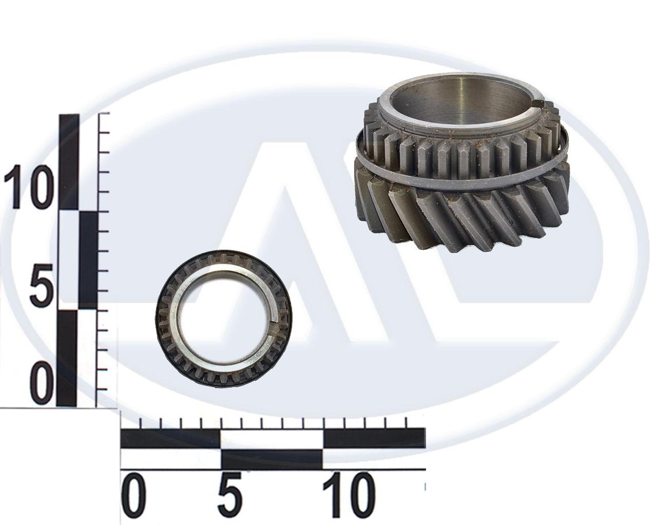 Шестерня КПП 2101-2107, 3 передачи