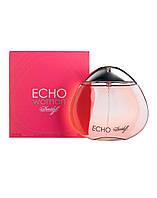 Davidoff Echo, 100 ml ORIGINAL size женская туалетная парфюмированная вода тестер духи аромат