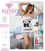 Женская пижама с шортами Elitol
