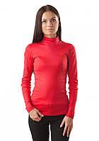 Красная водолазка женская VL 136 (S, L)