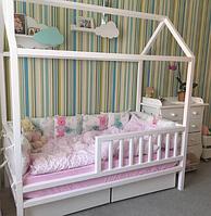 """Кроватка-домик на ножках с выкатными ящиками """"Стандарт S"""""""