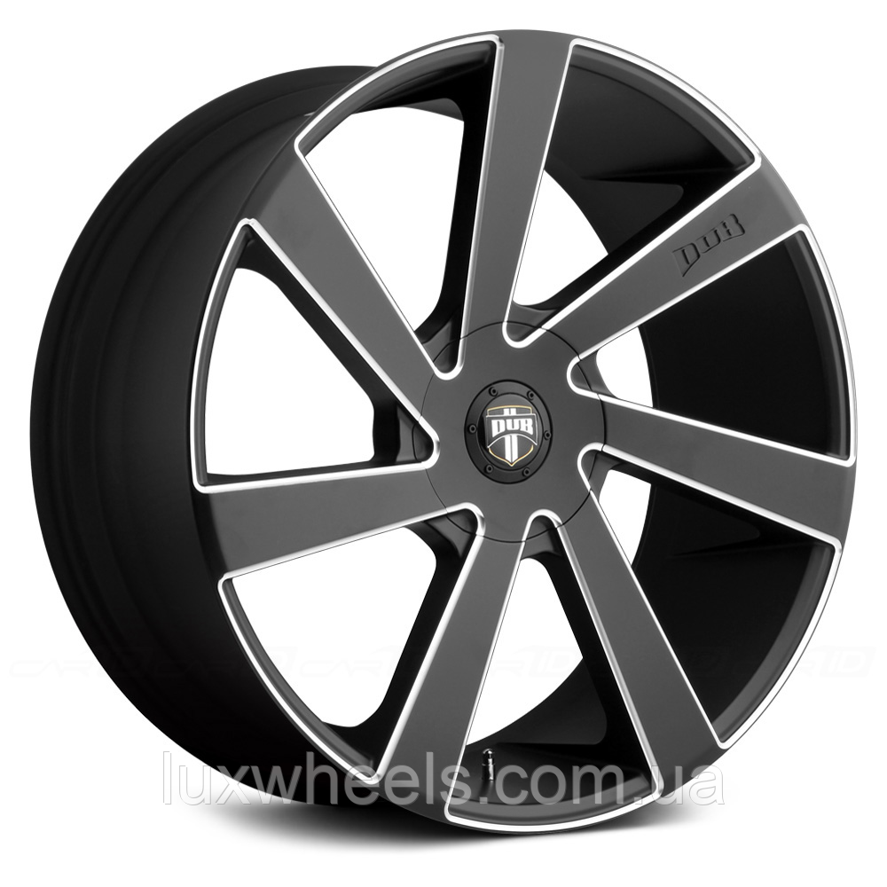 DUB DIRECTA Black with Milled Accents