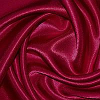 Креп ткань сатин вишневый