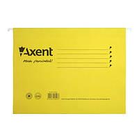 Файл Axent подвесной картонный, А4, желтый
