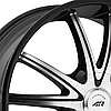 AMERICAN RACING AR897 Gloss Black with Machined Face, фото 2