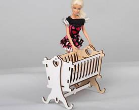 Кукольная мебель BigEcoToys Люлька