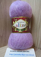 Мохеровая пряжа (62%- кид мохер, 38%- полиамид, 50 г/ 500 м) Alize Kid Royal 27