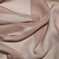 Шифон ткань однотонный розовый серый