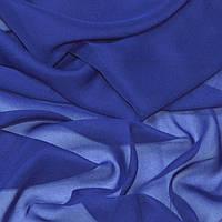Шифон ткань однотонный светлая синий