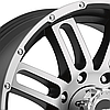 AMERICAN RACING AR901 Satin Black with Machined Face, фото 2