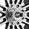 AMERICAN RACING AR901 Satin Black with Machined Face, фото 3
