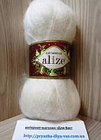 Мохеровая пряжа (62%- кид мохер, 38%- полиамид, 50 г/ 500 м) Alize Kid Royal 62