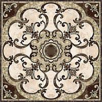 Плитка Интеркерама EMPERADOR Декор-пано коричневая 46х50 см