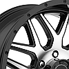 AMERICAN RACING AR910 Gloss Black with Machined Face, фото 2