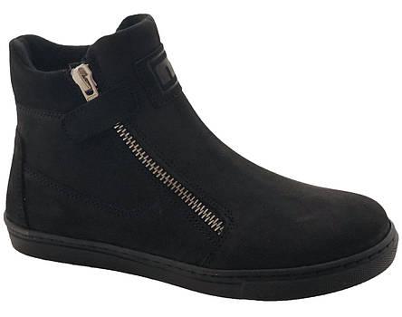 Ботинки Minimen 55ZAMOKDEV р. 31, 32, 33, 35, 36 Черный, фото 2