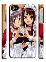 Чехол на  iPhone 4/4s haruhi