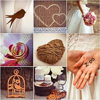 Тренд года - рустикальная свадьба!