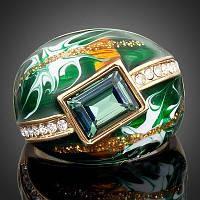 "Кольцо ""Green алмаз"""