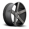 DUB BALLER Black with Machined Face and Dark Tint, фото 2