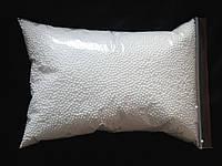 Шарики пенопластовые Белые Шар пенопластовый заготовка 3-4 мм 55 грамм/уп