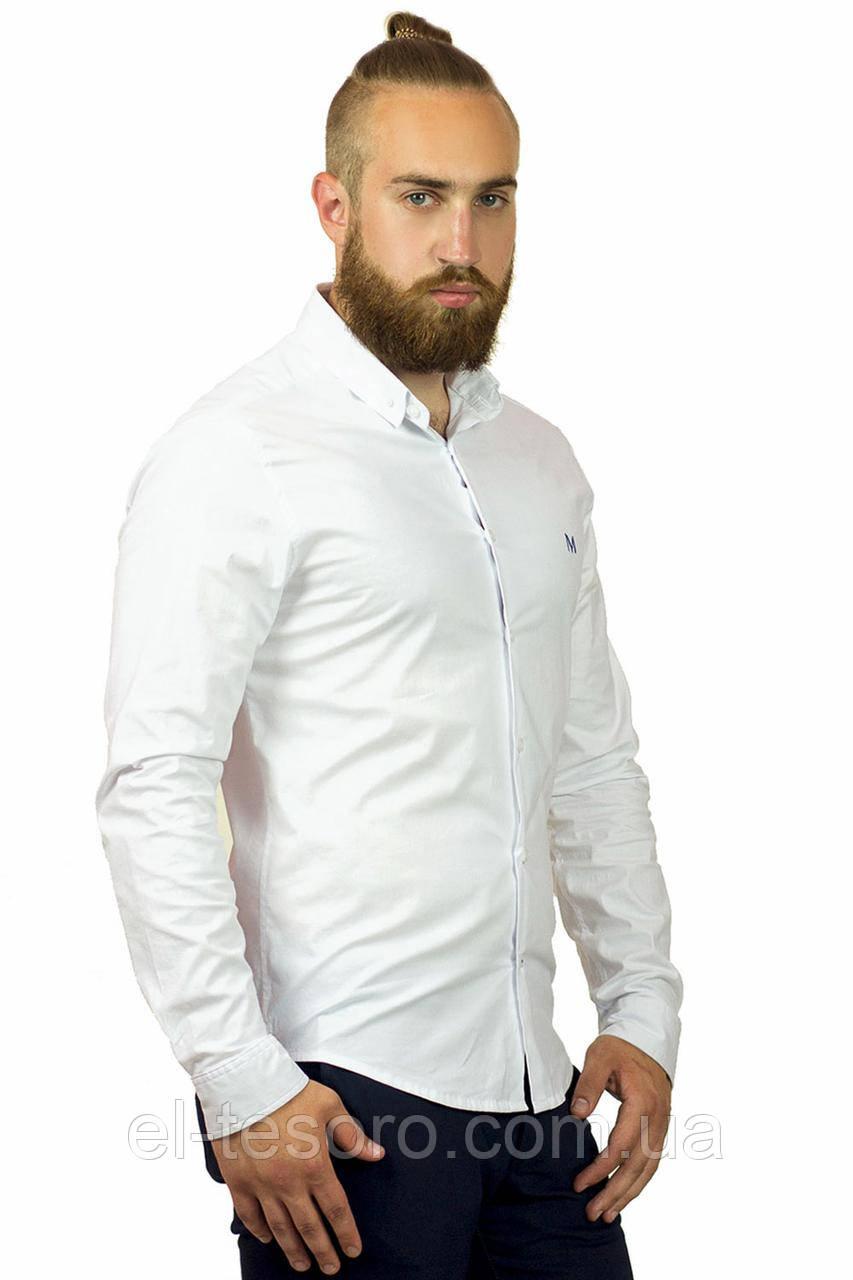 Рубашка Maksymiv S-119-1 XL Белый