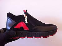 Ботинки женские кожа и замша в разных цветах код 543