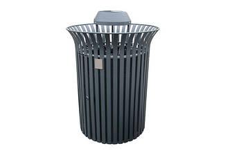 """Урна """"Король"""" с металлическим баком для мусора, фото 2"""
