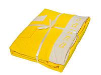 Набор для сауны Petek Sauna Cotton Woman Yellow махра 3 предмета