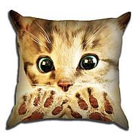 Декоративная подушка для Котик 40х40см