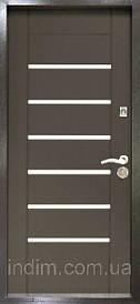 Двери входные Лагуна ТМ Riccardi венге/дуб беленый 960