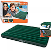 Двуспальный надувной матрац со встроенным ножным насосом 66929,размер 191х152х22 см