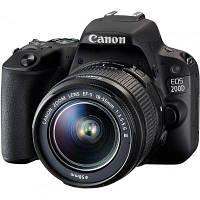 Цифровой фотоаппарат Canon EOS 200D kit 18-55 IS STM Black (2250C017)