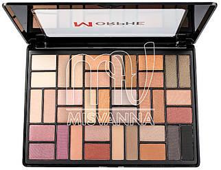 Палитра цветных теней для макияжа MORPHE 0236Р, 36 цветов