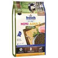 Bosch Mini Adult Mit Frischem Geflügel & Hirse Сухой корм для взрослых собак маленьких пород с птицей и просо