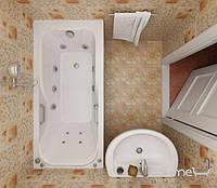 Гидромассажная ванна Triton Кэт, 1500х700х560 мм