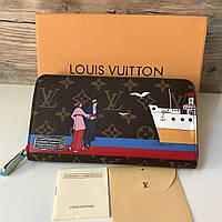Женский кошелек Louis Vuitton на молнии