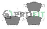 PROFIT  PR 5000-1643 Тормозные колодки  дисковые, к-кт.  Для автомобилей:VW